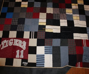 etsy, personalized, and t-shirt quilt image