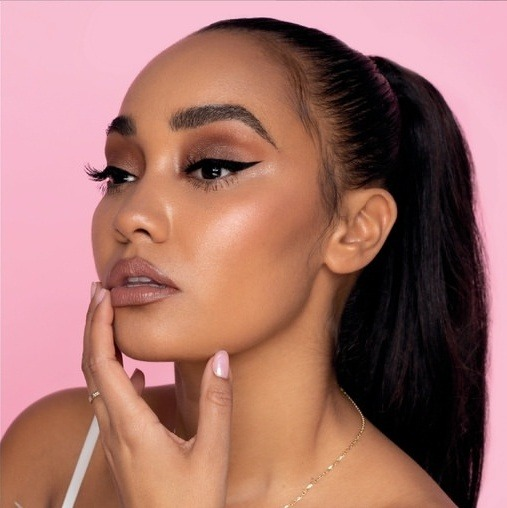 article, makeup, and leigh-anne image