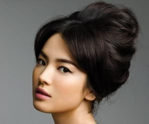 asian, beautiful, and face image