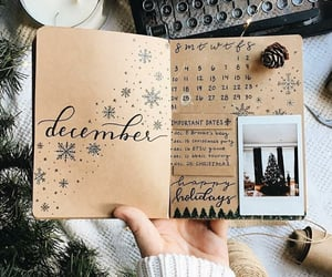 december and bullet journal image