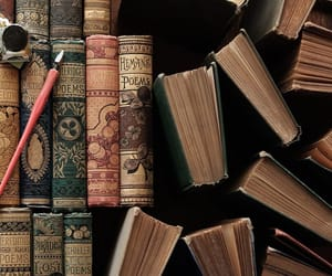 books and vintage image