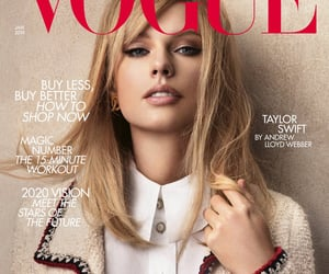 Taylor Swift, vogue, and cover image