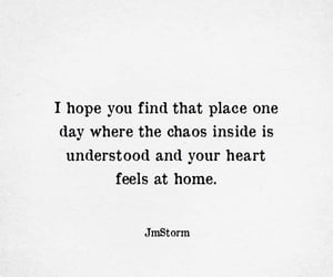 chaos and home image