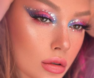 aesthetic, disco, and eyeshadow image
