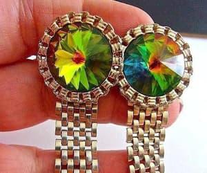 etsy, formal wear, and rainbow cufflinks image