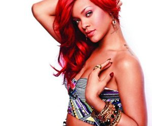 red hair, rihanna, and style image