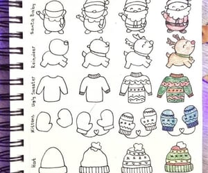 doodles, bullet journal, and bujo doodle image
