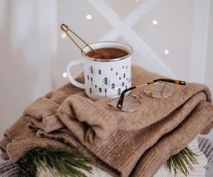 aesthetic, cozy, and glasses image