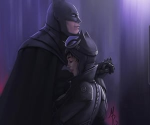batman, catwoman, and couple image