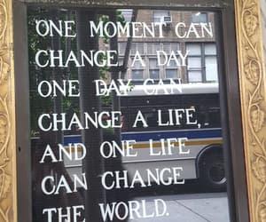 Buddha, new york city, and one moment image