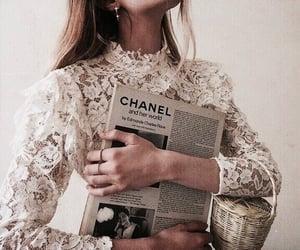 bag, vintage, and blonde image