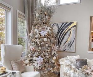 christmas tree and home image