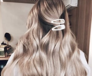 hair, accessories, and blonde image