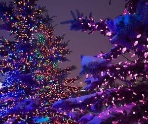 aesthetic, snow, and christmas inspiration image