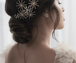 beautiful, hair, and feminine image