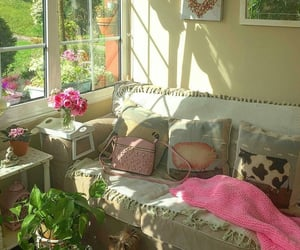apartment, cosy, and rose image