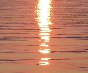 orange, sea, and water image