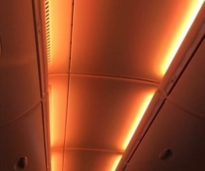 aesthetic, lights, and orange image