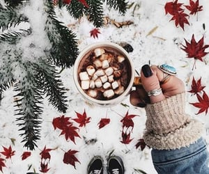 chilling, cozy, and festive image
