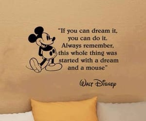 Dream, disney, and mickey image