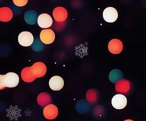 wallpaper, december, and lights image