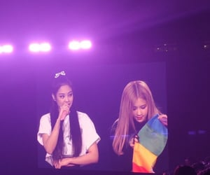 bp, pride flag, and jennie image