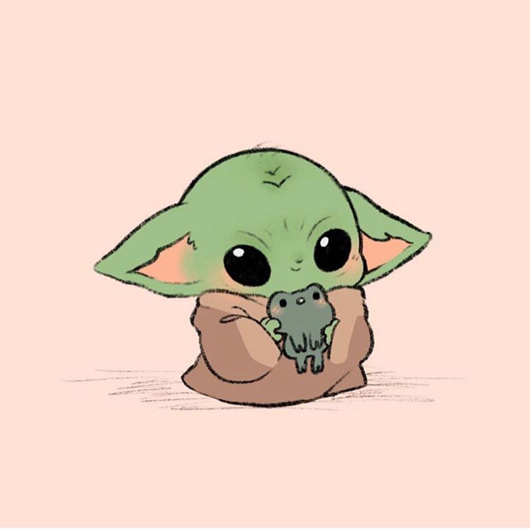 Baby Yoda 💚 https://www.instagram.com/p/B5Xmu95DwSq/?igshid=2g1j986wnc6w  shared by @MarvelousGirl94