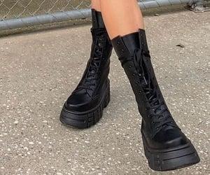 black boots platform image