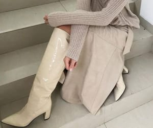 fashion, boots, and chic image