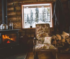 winter and cozy image