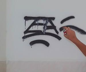 graffiti, hip hop, and graffiti art image
