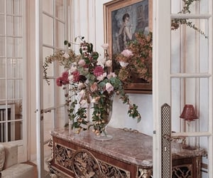 flowers, home, and interior image