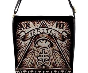 eye, illuminati, and leviathan cross image