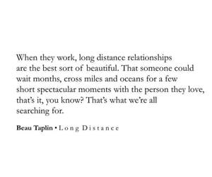 deep, long distance, and quote image