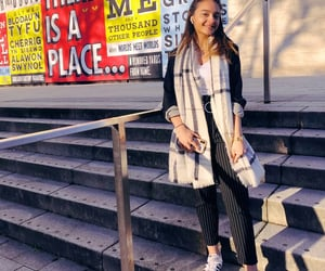 adidas, pants, and scarf image
