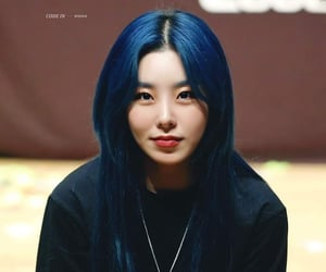 blue hair, hip, and jung image