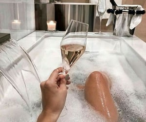 champagne, goals, and baeluxury image