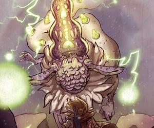 dragon, the legend of zelda, and botw image