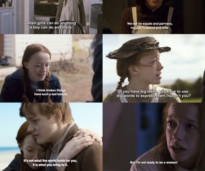 anne, anne shirley, and feminism image