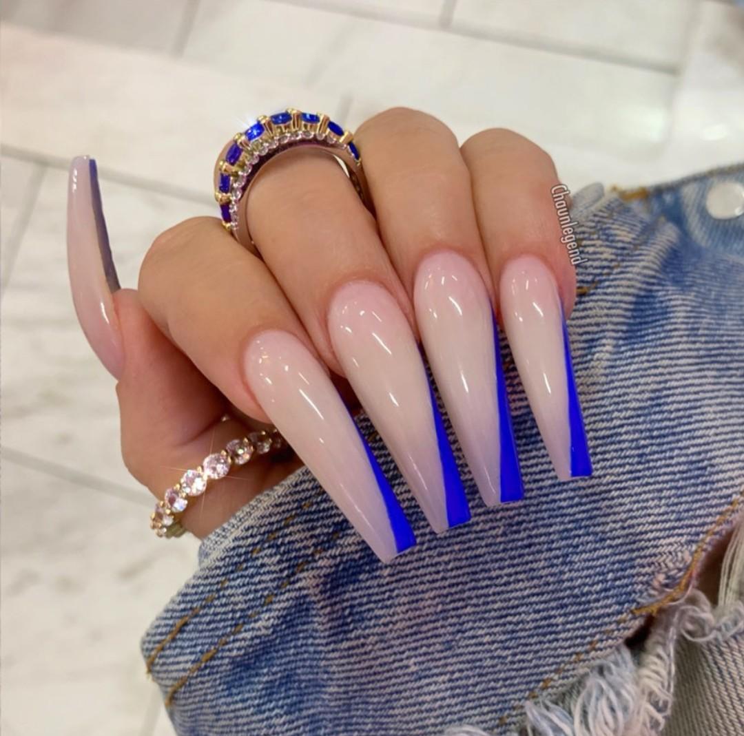Очень красивые длинные ногти фото