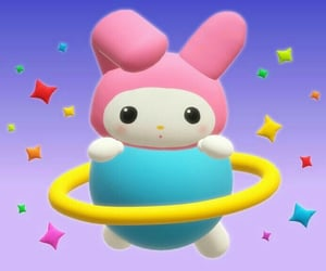 3d, cyber, and hello kitty image