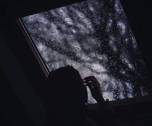 rain, dark, and grunge image
