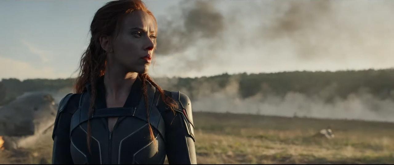Scarlett Johansson As Natasha Romanoff Via Black Widow