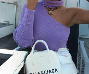 Balenciaga, girly, and purple image