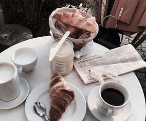 food, coffee, and breakfast image