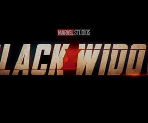 black widow, header, and title image