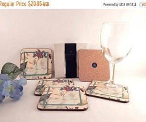 vintage kitchen, coasters, and etsy image