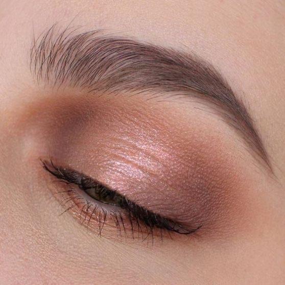 Natural eye makeup look uploaded by Elise Meijer