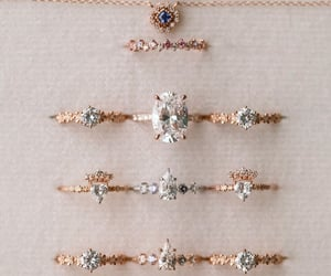 diamond, fashion, and rings image