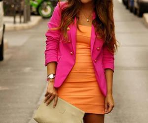 colors, dress, and cute image